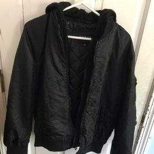 Guess men's heavy bomber jacket